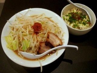 特濃ラブメン+日替り鉄板飯