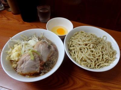 ラーメン+つけ麺+生玉子