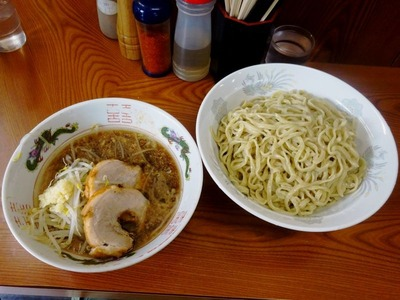 ラーメン+つけ麺