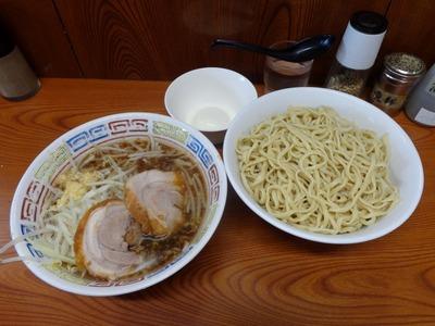 ラーメン+つけ麺+温泉玉子
