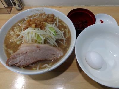 ラーメン+生玉子