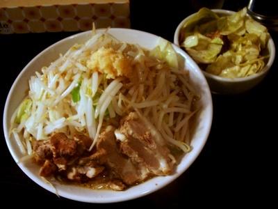 ラブメン(小)+キャベチャー