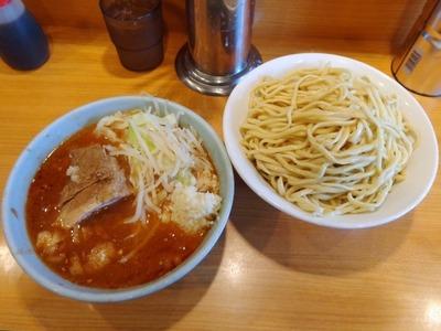つけ麺(辛いの)