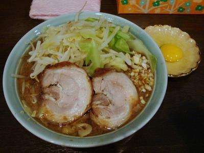 あかつき麺+生たまご