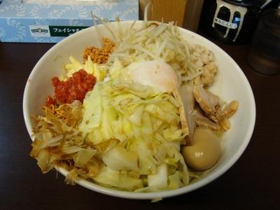 太郎汁なし 麺300g+味付半熟玉子