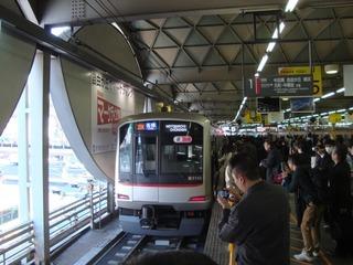 東横線渋谷駅2