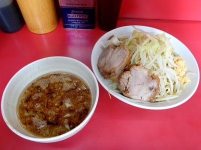 大ラーメン+揚げネギのつけ麺