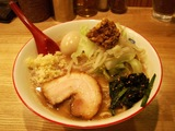 ラーメン(二郎風)+半熟味付玉子