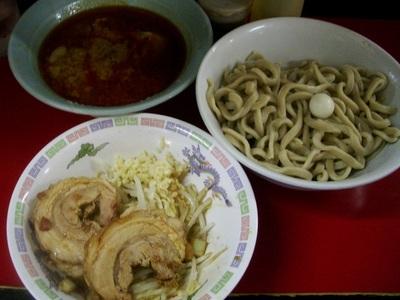 小つけ麺+巻チャァ