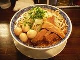 ら〜麺+麺中盛+味玉