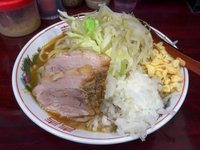 らーめん 普通盛+味噌タマ