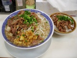 らー麺+豚飯