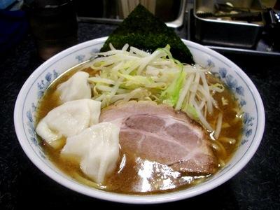 にんにく中華+水餃子