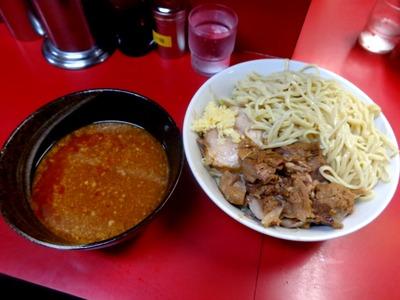 ラーメン+味噌つけ麺