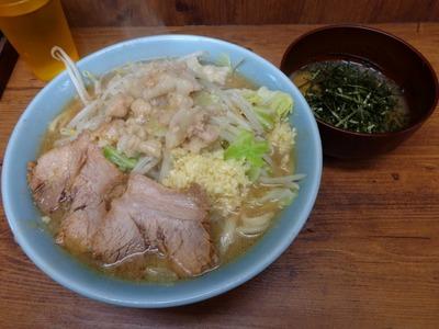 ラーメン+生とじ玉子