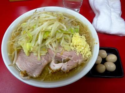 ラーメン+うずら玉子(5コ)