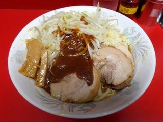 西台(油そば味噌がけ)