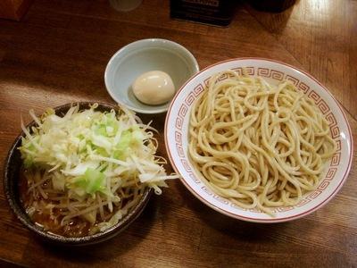 つけ麺(小)+味付玉子
