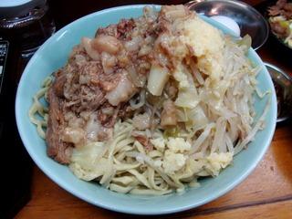 麺と具の丼