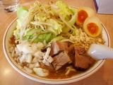 こってり醤油太麺(陣郎)麺増し