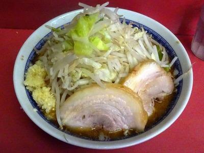 小ラーメン麺半分)+つけ味変更