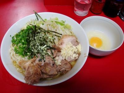 ラーメン+油そば+玉子