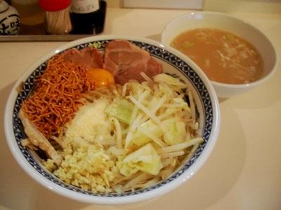 油そば+スープ