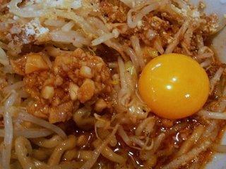 ニンニク+卵黄投入