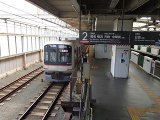 元住吉駅1