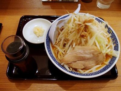 海老赤ふじ麺+中盛