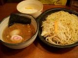 つけ麺大盛+味付玉子+ライス