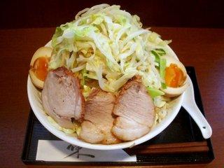 野菜らーめん+煮玉子