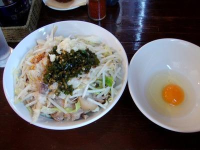 スープ無し◇塩ラー油+プルコッチ