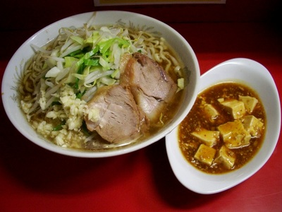 小ラーメン+麻婆豆腐