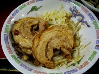 巻チャァ+野菜+ニンニク