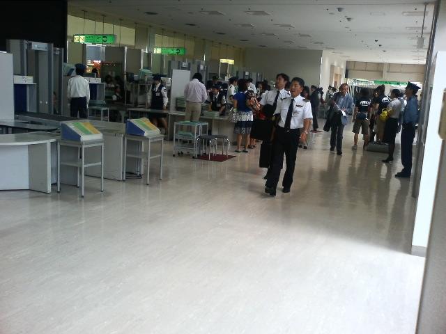 伊丹空港チェック