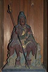 歩行者椅像/天明4年(1784)明石寺蔵