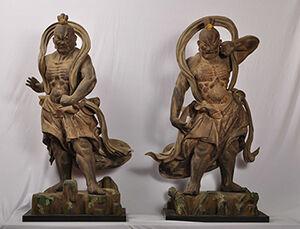 金剛力士像(二十八部衆像)/鎌倉時代 明石寺蔵