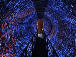 恐怖のワームトンネル