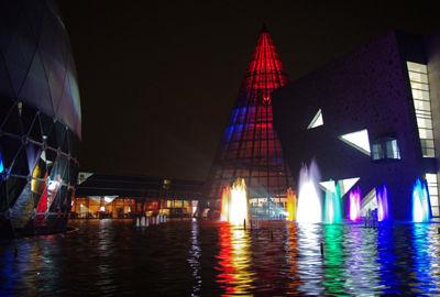 クリスマスライトアップ (2009) 全景