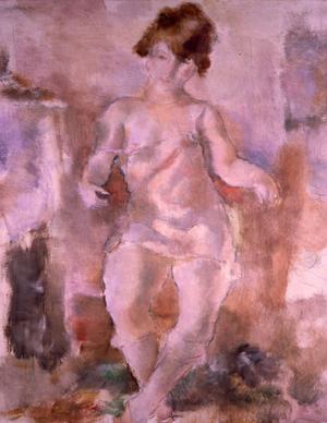 ジュール・パスキン〈下着の裸婦〉 .jpg