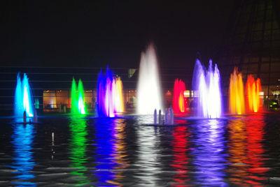 クリスマスライトアップ(2009) 噴水