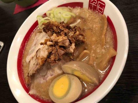 ちゃーしゅうめん味玉&肉(6枚)&レモンサワー@千石自慢ラーメン本店