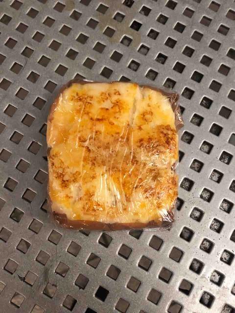 チーズの焼き色にズキュン。焼きチーズ蒸しぱん@ヤマザキ