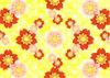 桜赤桃背景黄色 (2)