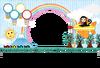 イラスト,てんとうむし,印刷用,申年,虹,申,デザイン,気球,ファンシー,猿,太陽,カラフル,一般年賀状,飛行機,ポップ,子供向け,グリーティングカード,キャラクター,さる,メッセージカード,空,サル,ポストカード,富士山,かわいい,可愛い,テントウムシ,カワイイ,動物,天道虫,写真フレーム,写真枠,年賀素材,年賀状,枠,フレーム,テンプレート,コピースペース,メッセージスペース