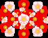 桜赤桃(透過)
