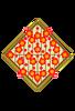 菱形梅の花(背景透過)
