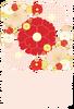 春・卒業の時期・おめでたい・華やか・花デザイン(透過PNG)はがきサイズ