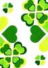 ハートクローバー緑